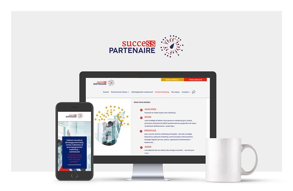 Lancement du site web Success Partenaire