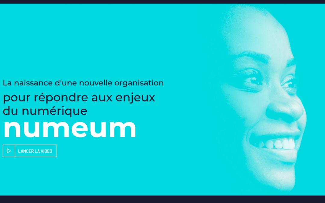 SYNTEC numérique et Tech In France fusionnent pour donner naissance à Numeum